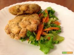 Hamburger di pesce persico al forno