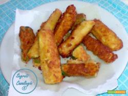 bastoncini zucchine fritte