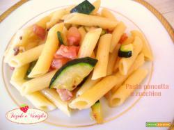 Pasta Pancetta e Zucchine