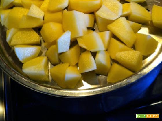 Con e Senza Bimby, Potato Salad - Tipica ricetta Americana per i Picnic