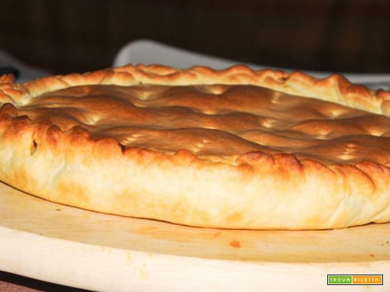 Torta salata con radicchio groviera – ricetta