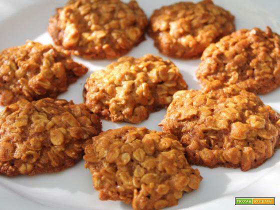Biscotti ai fiocchi di avena – ricetta