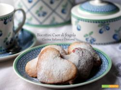 Biscottini Cuor di Fragola