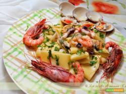 pasta all'insalata di mare
