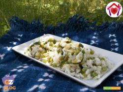 Insalata di riso verde