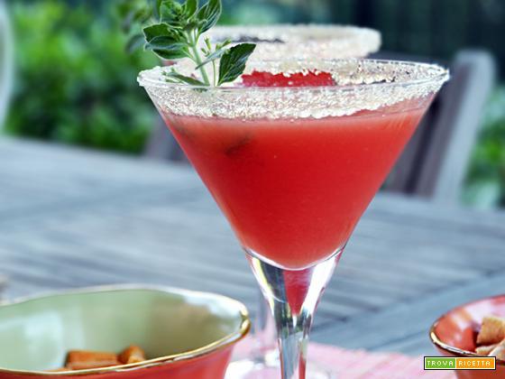 Anguria Evening Cocktail (alcolico e analcolico)