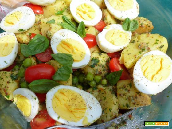 Insalata di patate estiva – ricetta