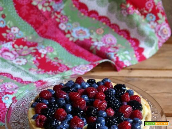 Sweet friday: La più classica delle crostate ai frutti di bosco