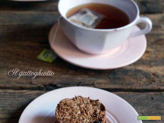 Sweet friday: Biscotti alla crusca e latte di mandorle
