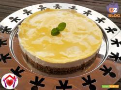 Cheesecake al limone senza colla di pesce
