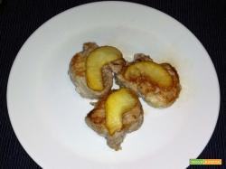 Filetto di maiale con le mele