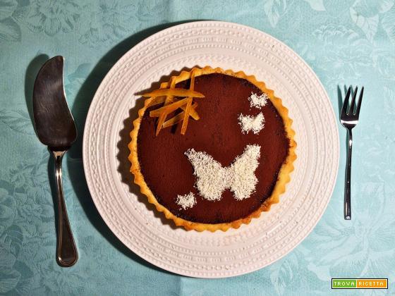 Torta al cioccolato e arancia (alla Pierre Hermé)