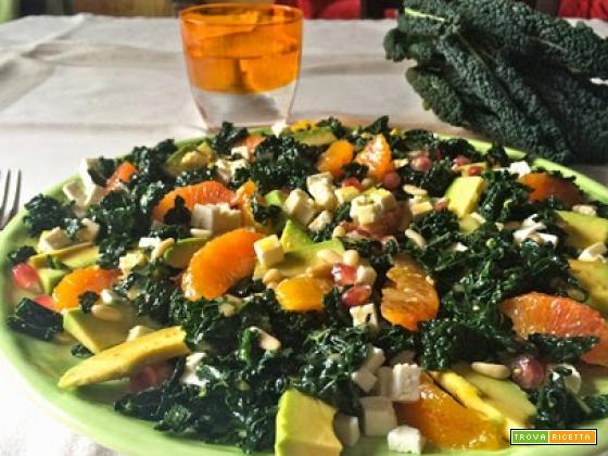 Insalata invernale antiossidante