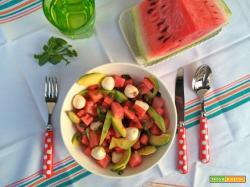 Anguria in insalata