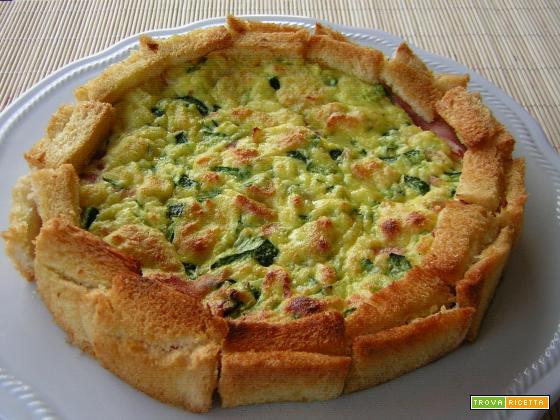 Torta salata con zucchine facilissima