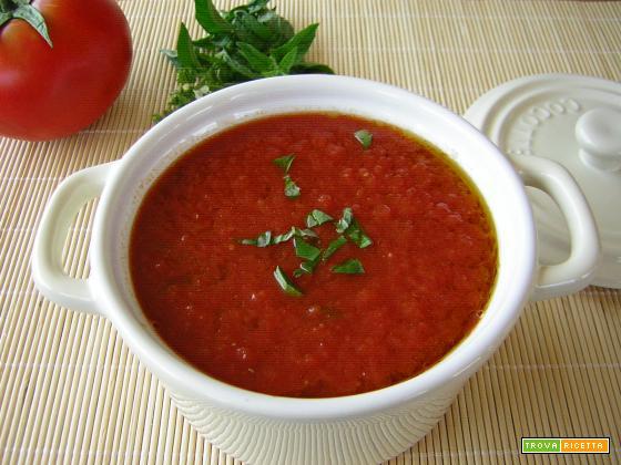 Salsa di pomodoro fresco