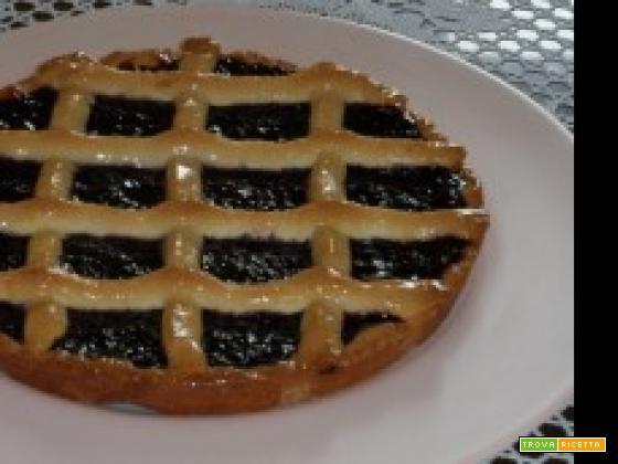 crostata di marmellata alle fragoline di bosco