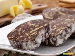 salame di cioccolato ripieno
