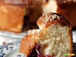 Torta Brioche ai Frutti di Bosco