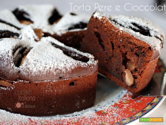 Torta pere e cioccolato – ricetta facile