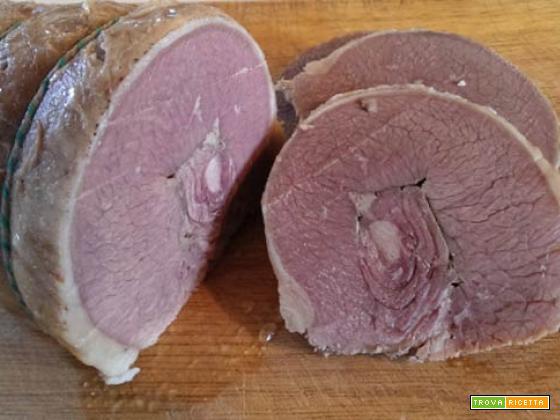 Roast beef di manzo in salamoia