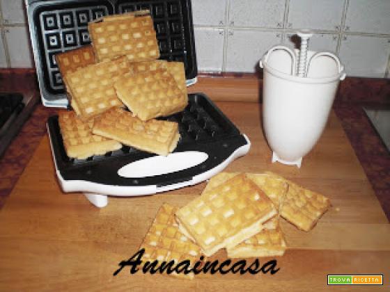 Swedish Waffles - Cialde dolci