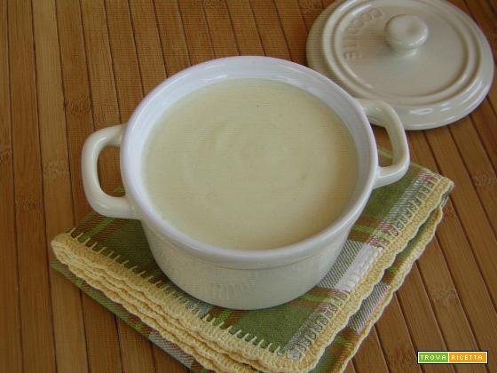 Salsa besciamella con olio di oliva