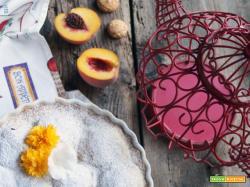 Sweet friday: Crostata con pesche e amaretti