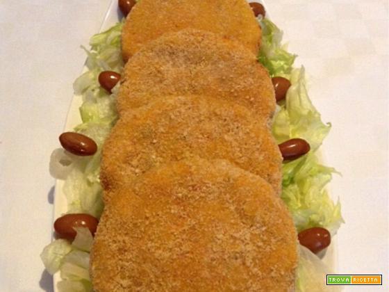 Burger di zucca e patate americane
