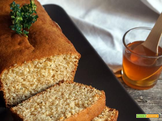 Sweet friday: Cake al miele e timo-limone