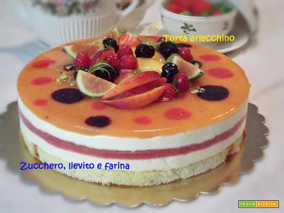 Torta Arlecchino (ricetta di Luca Montersino)