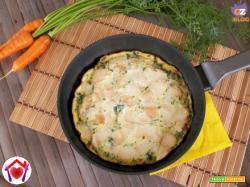 Frittata con il ciuffo delle carote
