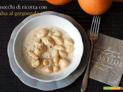 Gnocchi di ricotta in salsa di gorgonzola DOP