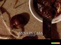 Purea di castagne al Marsala e cioccolato