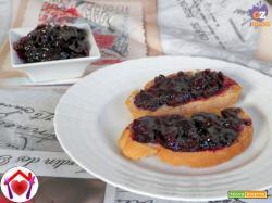 Marmellata all'uva fragola