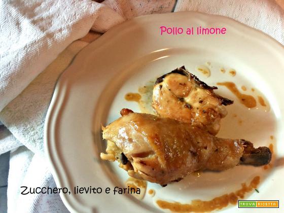Pollo al limone (semplice, al forno)