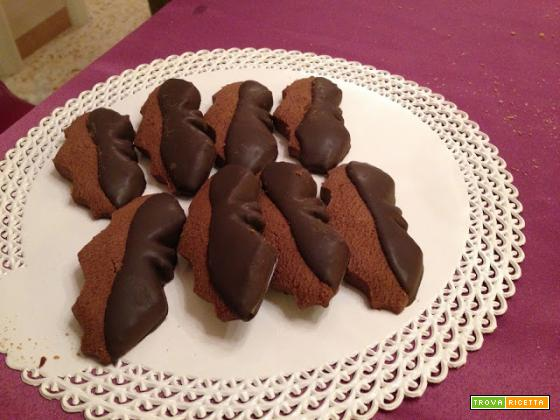 Bimby, Biscotti Pipistrelli al Cioccolato per Halloween