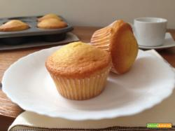 Muffin allo yogurt soffici e veloci