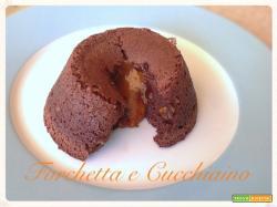 Tortino tiepido al cioccolato dal cuore fondente