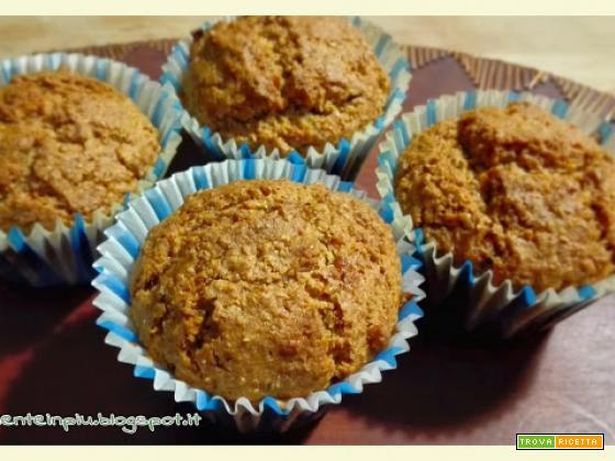 Muffins integrali al cocco con cuore di marmellata e nomination Cucina Vegetariana Award