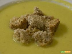 Vellutata di cavolfiore al curry e zafferano