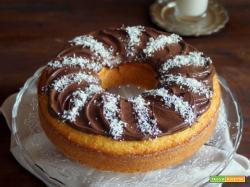 Sweet friday: Ciambella cocco-nutella