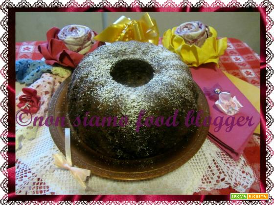 Angel Food Cake Panna e Cioccolato