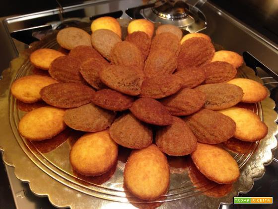 Con e Senza Bimby, Madeleine e Madeleine al Cacao e Mousse dolce Riso Nocciola