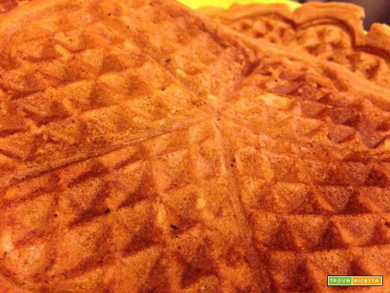 Con e Senza Bimby, Waffles Senza Burro, Senza Latte, Senza Lievito