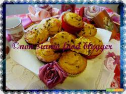 Muffin alla zucca con farina di kamut e gocce di cioccolato