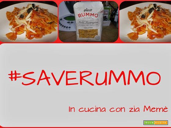 Pasta con pancetta e vodka SaveRummo