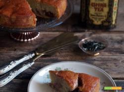Sweet friday: Torta alle prugne sciroppate e tè bianco