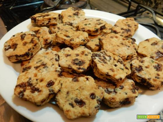 Profumo di buono: biscotti menta e cioccolato