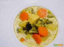 Zuppa di Verdure con Panna Acida (Polska style)